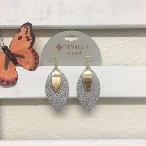 Panacea tear drop earrings